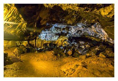 Die Höhle von Mitchelstown - Eine große Kammer in der Höhle