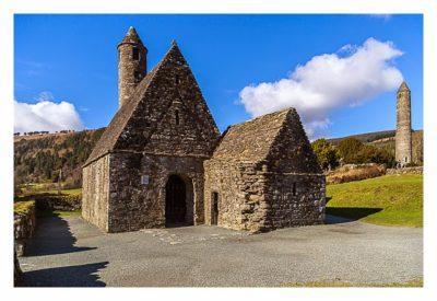 Wicklow-Mountain - Glendalough: St. Kevins Kitchen