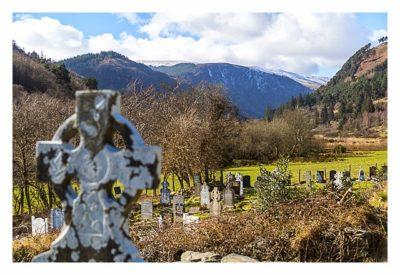 Wicklow-Mountain - Glendalough: keltische Hochkreuze