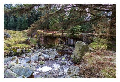 Wicklow-Mountain - Wicklow Gap: die alte Brücke