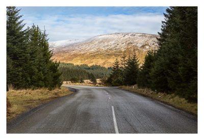 Wicklow-Mountain - Wicklow Gap: auf dem Weg ins Tal