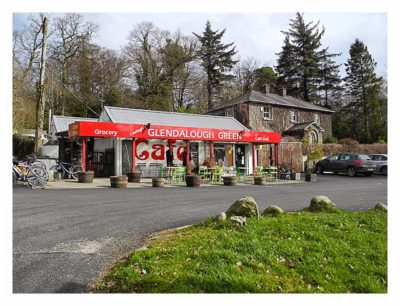 Wicklow-Mountain - Glendalough: ein kleines Café