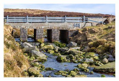 Wicklow-Mountain - die alte Militärstrasse - Brücke