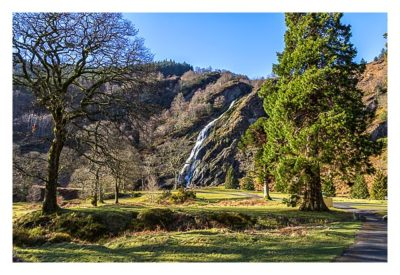 Wicklow-Mountain - Powerscourt Wasserfall: im Park
