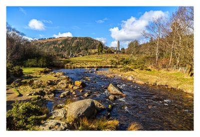 Wicklow-Mountain - Glendalough: am Fluß