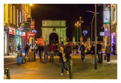 Geocaching in Dublin: Einkaufsstrasse