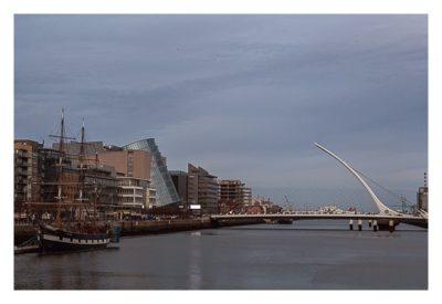 Geocaching in Dublin: Am Liffey