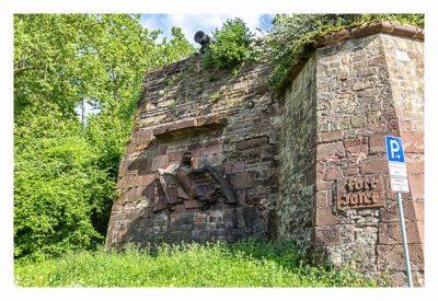 Fort St. Josef - die Mainzer Unterwelt: Außenansicht