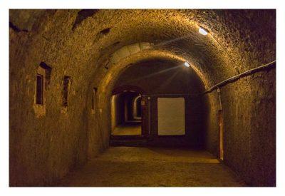 Fort St. Josef - die Mainzer Unterwelt: In der Kontereskarpe