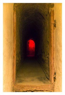 Fort St. Josef - die Mainzer Unterwelt: Weg zum Luftschutzraum