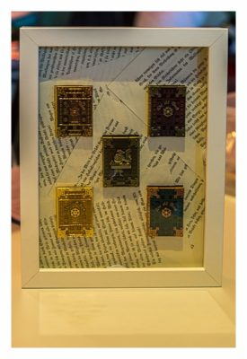 """Geocaching Giga-Event """"Gutenberg 2015"""" - GCC mit den """"The Old Book""""-Coins"""