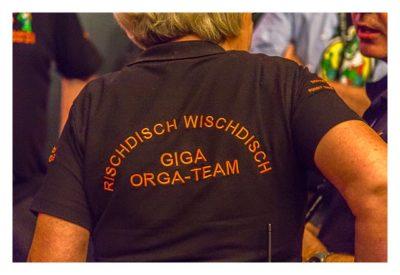"Geocaching Giga-Event ""Gutenberg 2015"" - T-Shirts des Orga-Teams"