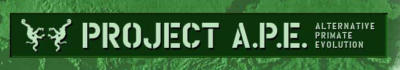 Banner der ursprünglichen Webseite http://projectape.com