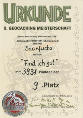 2012-Urkunde