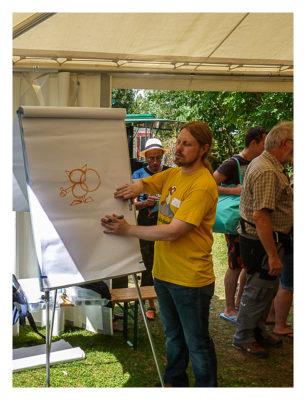 Mega am See 2015 - Ein Geohörnchen entsteht!