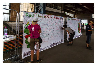 Red Lion meets Signal - Logbuch