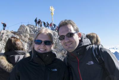 Blogvorstellung FerrariGirlNr1s Geocaching-Blog: Lisa auf der Zugspitze...