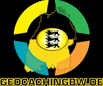 """Das Logo des Geocaching-Blogs """"GeocachingBW ? Geocaching in Baden-Württemberg"""""""