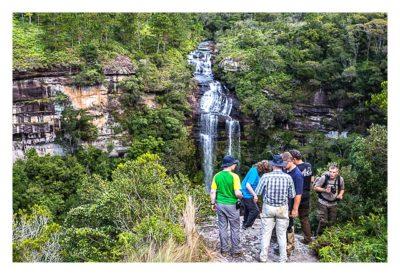 Natur pur im Pirituba Canyon - Am Aussichtspunkt