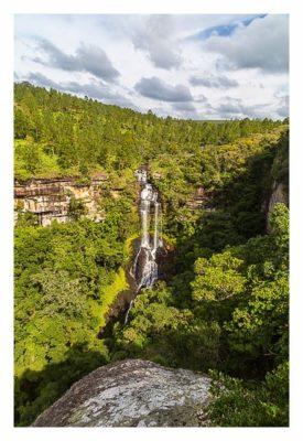 Natur pur im Pirituba Canyon - Näher am Wasserfall