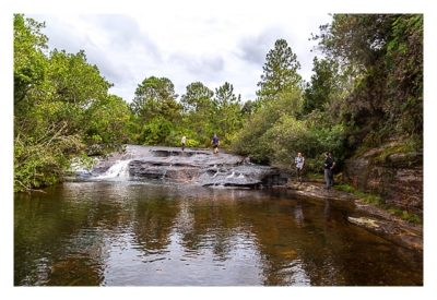 Natur pur im Pirituba Canyon - Nette Abkühlung