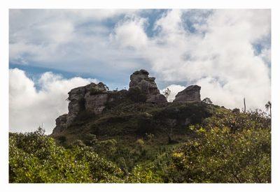 Natur pur im Pirituba Canyon - Der erste Blick auf die Felsen