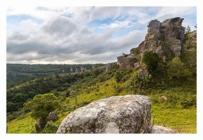 Natur pur im Pirituba Canyon - Schöne Felsformationen