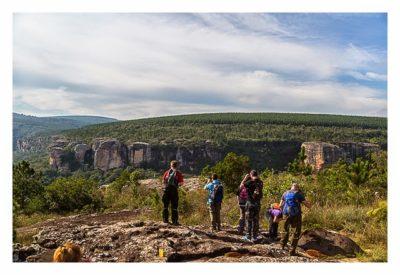 Natur pur im Pirituba Canyon - Der erste Blick auf den Canyon
