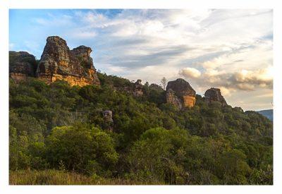 Natur pur im Pirituba Canyon - Abendstunden im Canyon
