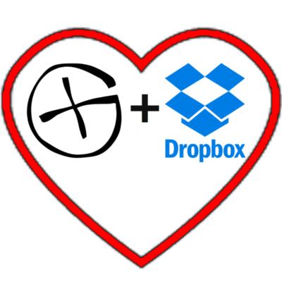 Dropbox für Geocacher: Herz