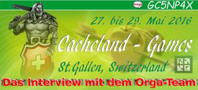 Cacheland-Games 2016: Das Interview