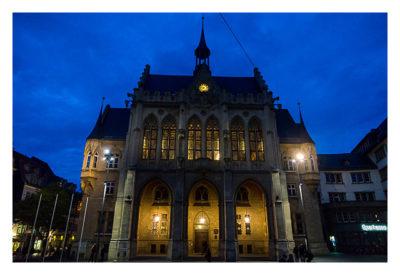 Nachtwächterführung - Erfurt - Das alte Rathaus
