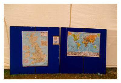 UK Mega 2016 in North Wales - Karten mit den Orten, wo die Teilnehmer herkommen