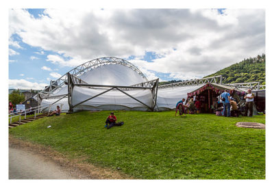 UK Mega 2016 in North Wales - Royal international Pavillon in Llangollen