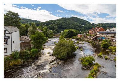 UK Mega 2016 in North Wales - Llangollen - Am Fluss