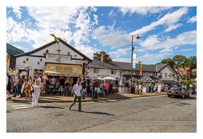 UK Mega 2016 in North Wales - Llangollen - Die Eisdiele