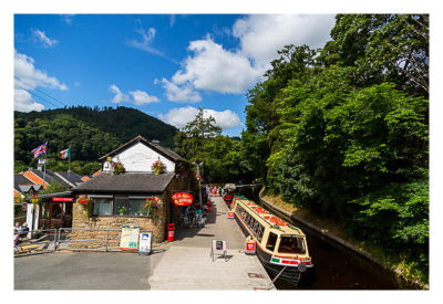 UK Mega 2016 in North Wales - Llangollen - Am Kanal