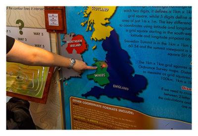 UK Mega 2016 in North Wales - GPS Maze Europe - Infotafel UK