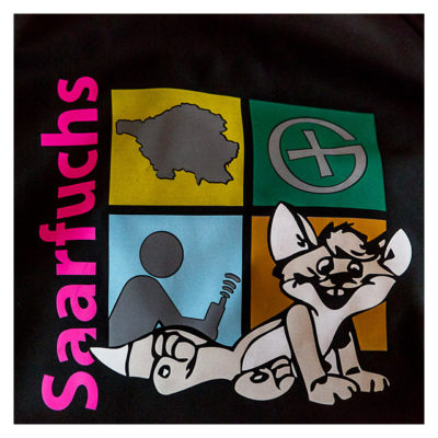 Produkttest Softshell-Jacke - Saarfuchs-Logo