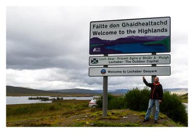 Produkttest Softshell-Jacke - Die Vorderseite der Jacke in den schottischen Highlands