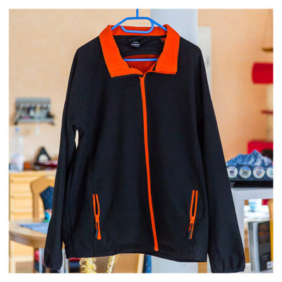 Produkttest Softshell-Jacke - Die Vorderseite der Jacke