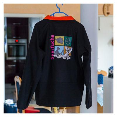 Produkttest Softshell-Jacke - Die Rückseite der Jacke