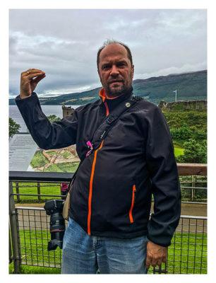 Produkttest Softshell-Jacke - Die Jacke am Loch Ness