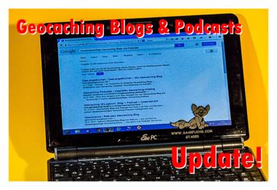 Update der News aus der Geocaching Blog- und Podcast-Szene