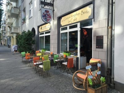 1st Geocaching Shop Berlin & Cafe: Interview mit Janine