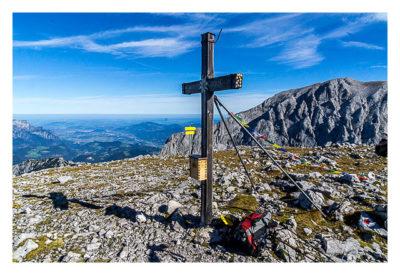 Geocaching Alpin: Besteigung Hohes Brett