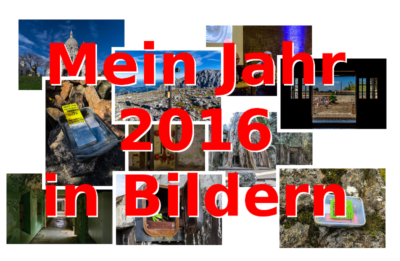2016 - Mein Geocaching-Jahr in Bildern