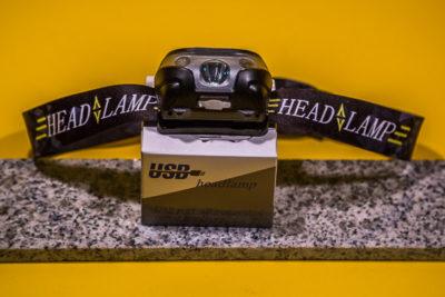Anbero USB Headlamp - Mein Test: klein aber fein!