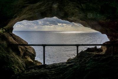 Geocaching auf Malta: Der Süden - Ghar Hasan - Fenster zum Meer
