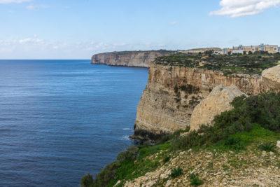 Geocaching auf Malta: Der Süden - Die Klippen bei Ghar Hasan